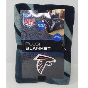 "Atlanta Falcons NFL Plush Blanket 60""x80"" NEW"